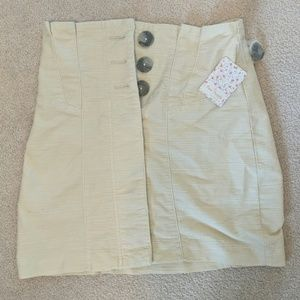 NWT free people skirt!! Size 2